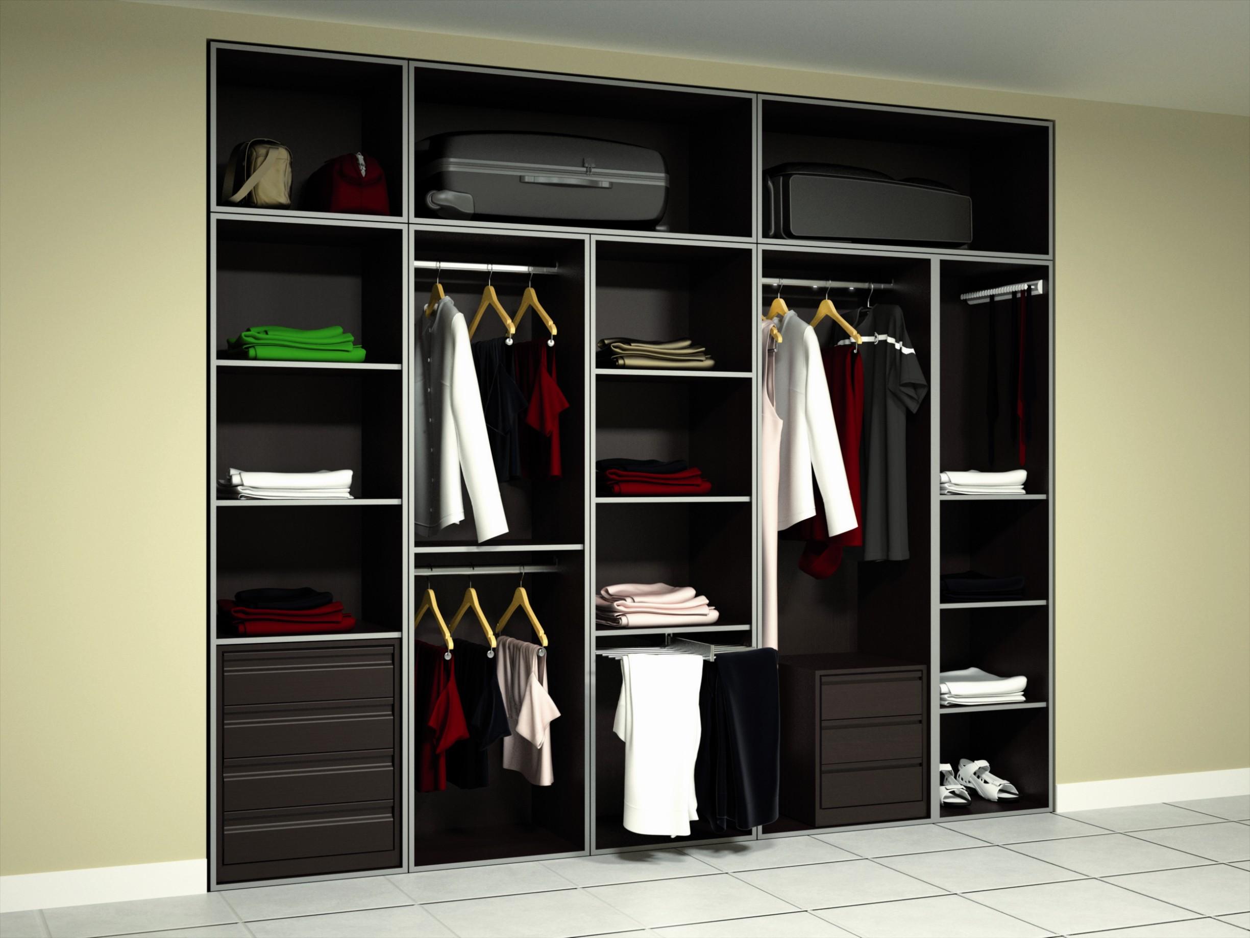 Frentes e interiores de armario nesu reformas - Armarios empotrados interiores fotos ...