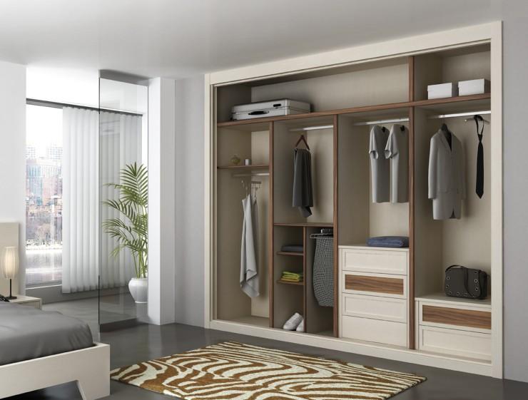 Interiores y frentes de armario nesu reformas - Armarios empotrados interiores ...
